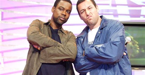 Chris Rock, Adam Sandler Are Teaming Up for a Netflix Comedy