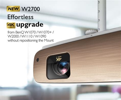 W2700 CinePrime True 4K Projector with HDR-PRO| BenQ Home