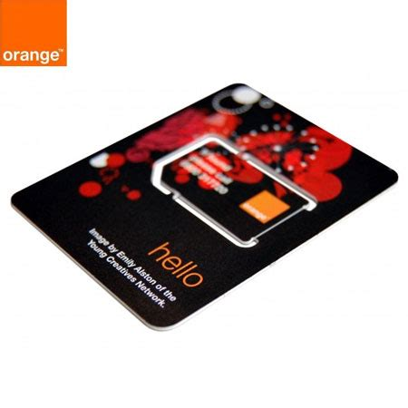 Orange Pay As You Go SIM Card Pack - With £5 Top Up
