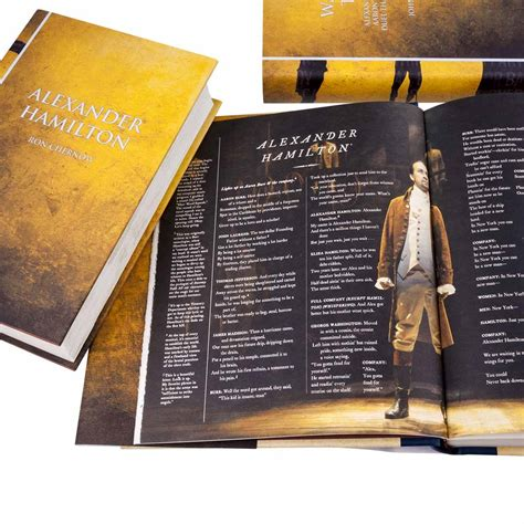 Hamilton - The Book Set Custom Jacketed Collection