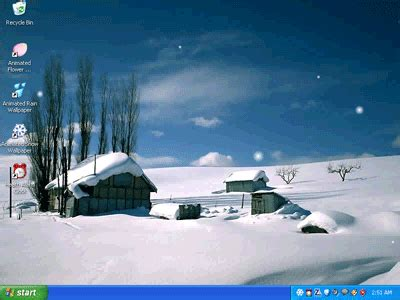 Animated Snow Desktop Wallpaper - Free download and