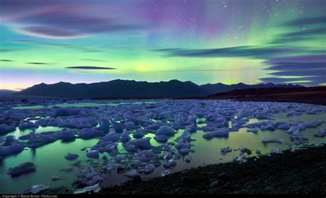 Picture of the Day: Aurora Borealis Over Iceland's