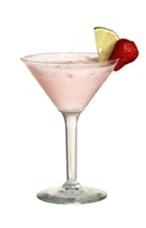 The Frozen Rose cocktail is made from Tequila Rose liqueur