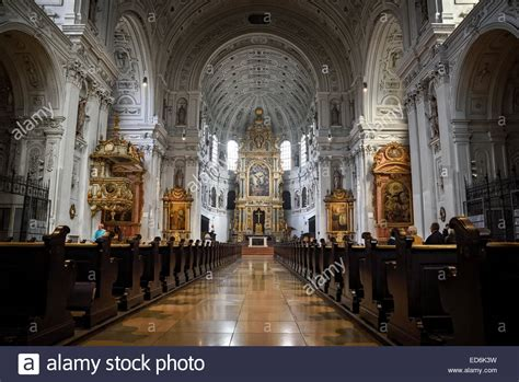 Interior of Munich Cathedral Stock Photo - Alamy