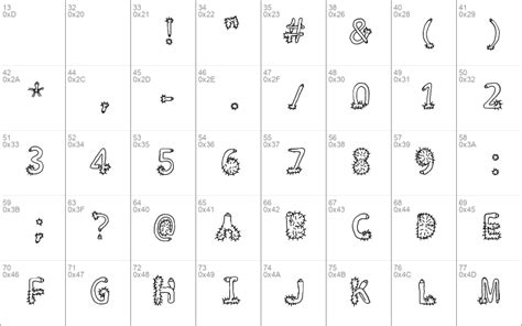 Penis Typography Regular Windows font - free for Personal