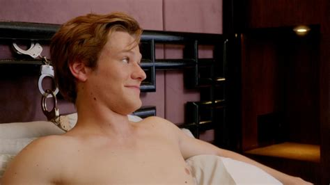 famousmales > Lucas Till shirtless in upcoming episode of