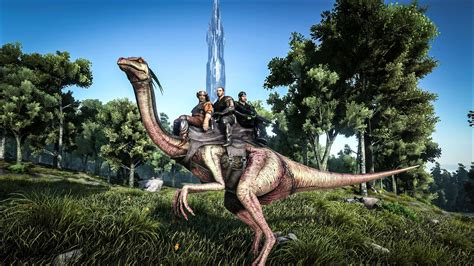 ARK: Survival Evolved update adds three-seater Gallimimus