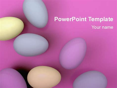 Free Printable PDF/PPT Easter Egg Template Download