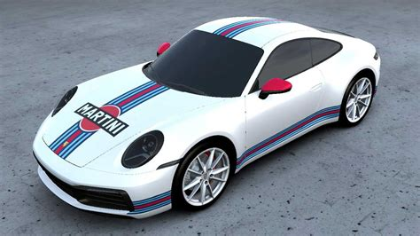 New Porsche Service Lets You Wrap Your Car In Martini