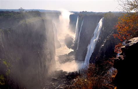 Victoria Falls World's Largest Waterfall - Gets Ready