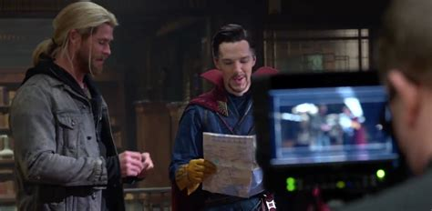 Doctor Strange and Thor Pal Around in New Blu-ray Feature
