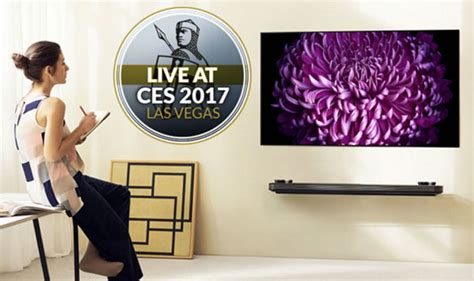 LG unveils new ultra thin W7 OLED 4K TV that sticks to
