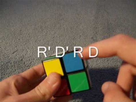 How to solve a 2x2 Rubik's Cube - YouTube