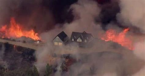 More homes destroyed by Northern California wildfire - CBS