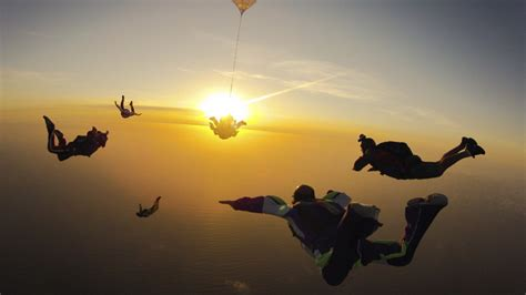 Skydiver Nearly Hit by Meteor   Outside Online