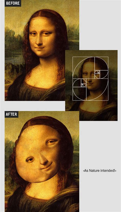 Satirical Project Uses The 'Golden Ratio' To Transform