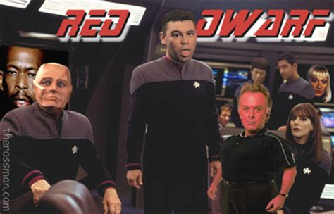 Telly series Review, Rating, Rossmaning: Red Dwarf (Series