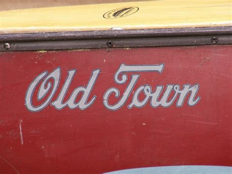 Old Town Canoe | Old town canoe, Old town, Color of the day