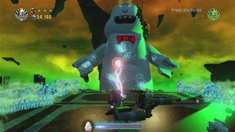 Lego Dimensions - Ghost Rowan boss fight (A Fight to the