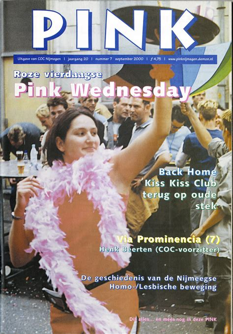 2000 PINK jrg20 nr7 | datum: september 2000 lay-out: Fred