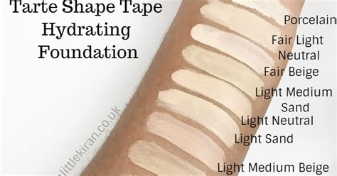 FIRST LOOK | TARTE SHAPE TAPE HYDRATING AND MATTE