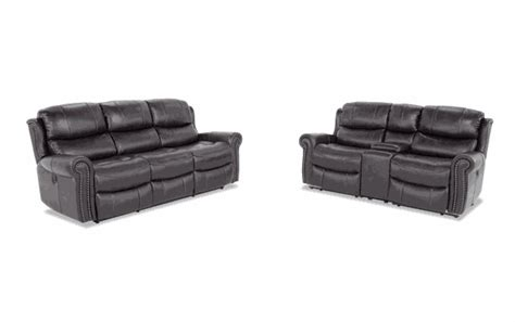 Power Reclining Sofa And Loveseat With Console   Baci
