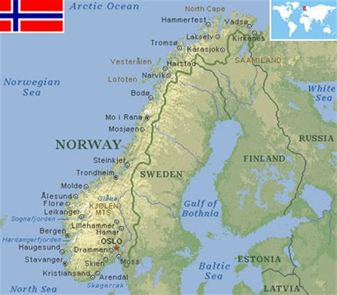 Norway - World Atlas - Find Fun Facts