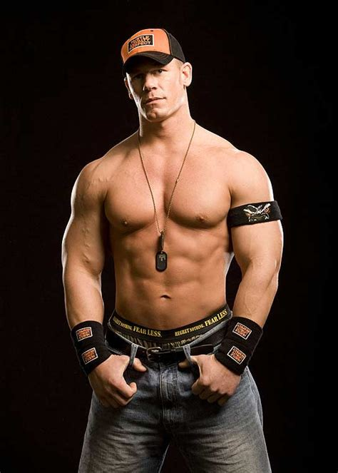 John Cena Height, Stats and Body Measurements
