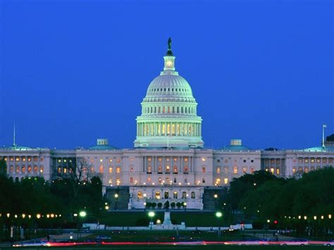 US Capitol at Night   National Geographic Society