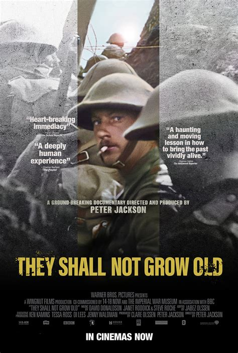 They Shall Not Grow Old Theatrical Review, They Shall Not