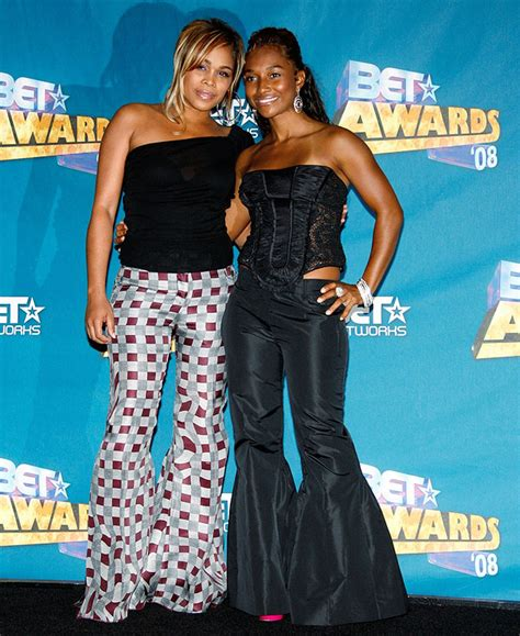The surviving members of TLC are getting lots of attention
