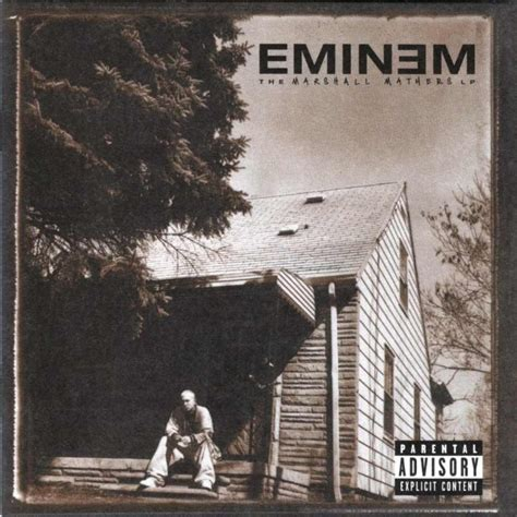 House from Eminem's 'Marshall Mathers LP' album cover up