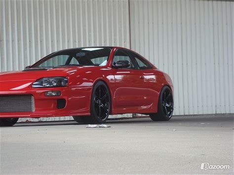 18-Year Old Builds a Toyota Supra Replica from a Celica