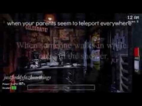 Five Nights at Freddy's quotes - YouTube