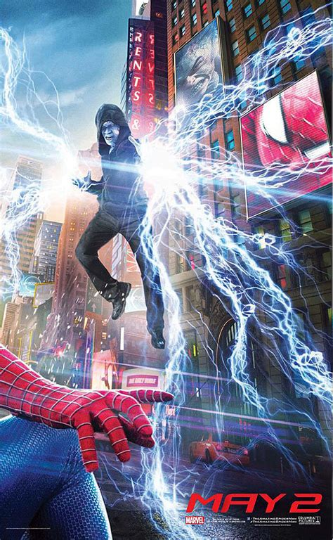 'Amazing Spider-Man 2' Poster: First Look at Rhino, Goblin!