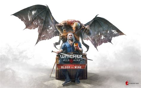 Here's the cover art for The Witcher 3 Blood and Wine